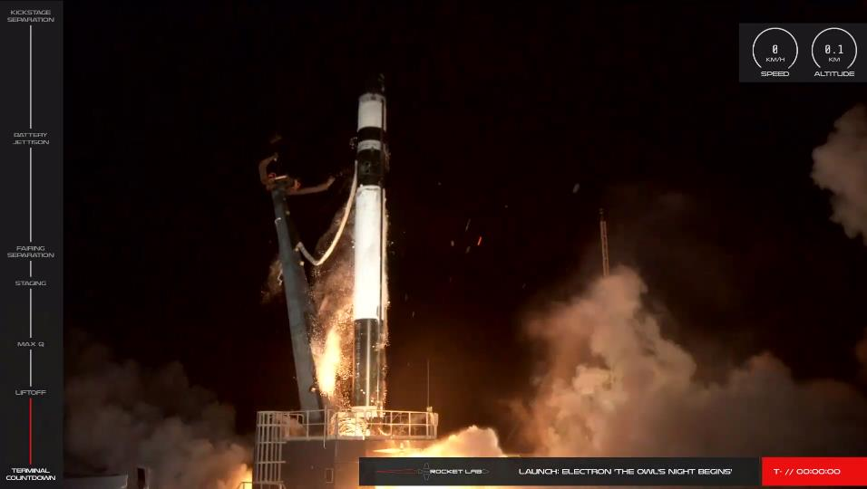 """[Rocket Lab] Electron n°17 """"The owl's night begins"""" (StriX-α) - OnS - 15.12.2020 Scre1729"""