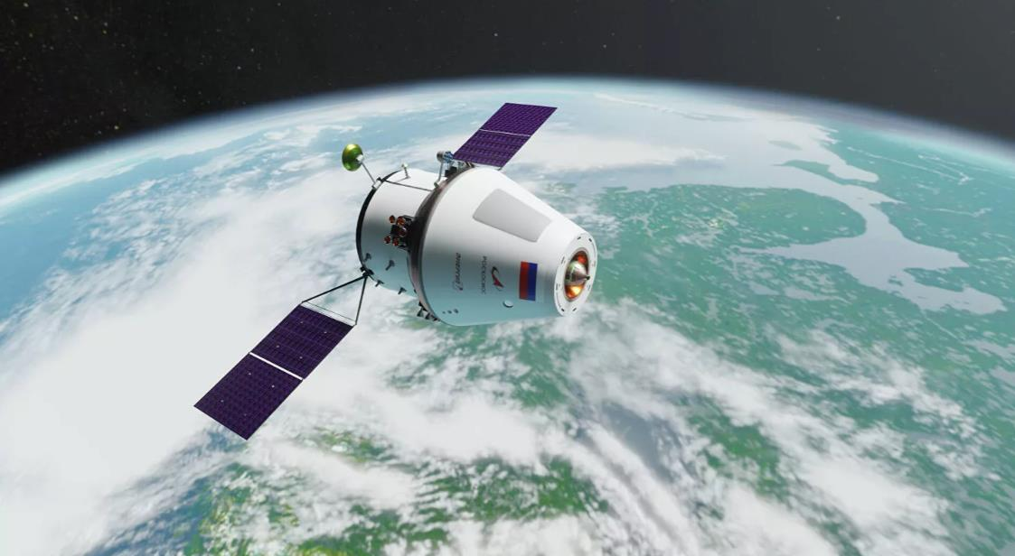 Orlyonok, version légère du vaisseau spatial Oriol  Scre1735