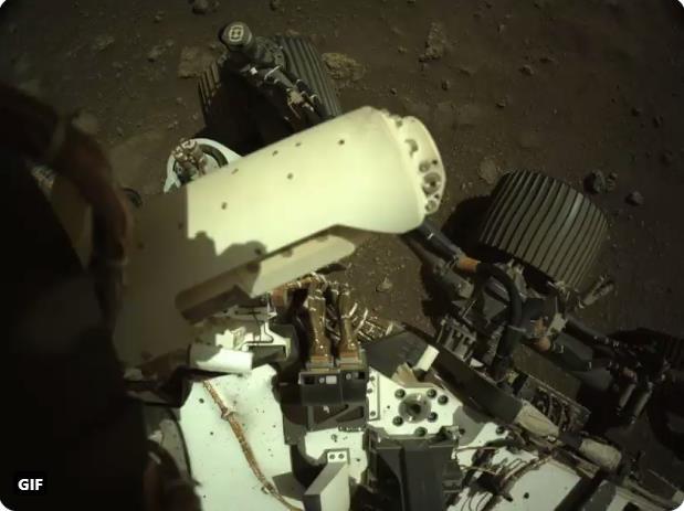 Mars 2020 (Perseverance - Ingenuity) : exploration du cratère Jezero - Page 3 Scre1843