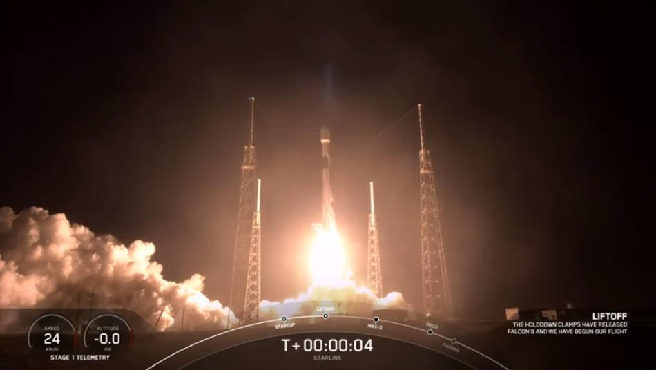 Falcon 9 (Starlink v1.0 L20) - CCSFS - 11.3.2021 Scre1861