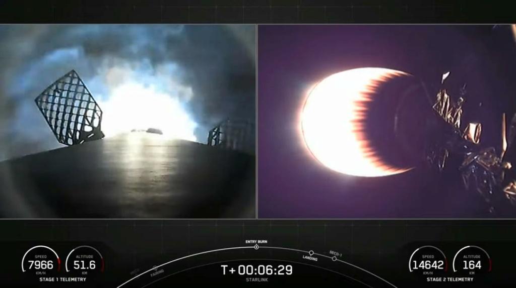 Falcon 9 (Starlink v1.0 L21) - KSC - 14.3.2021 Scre1867