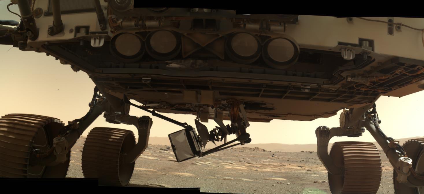 Mars 2020 (Perseverance) : exploration du cratère Jezero - Page 7 Scre1881