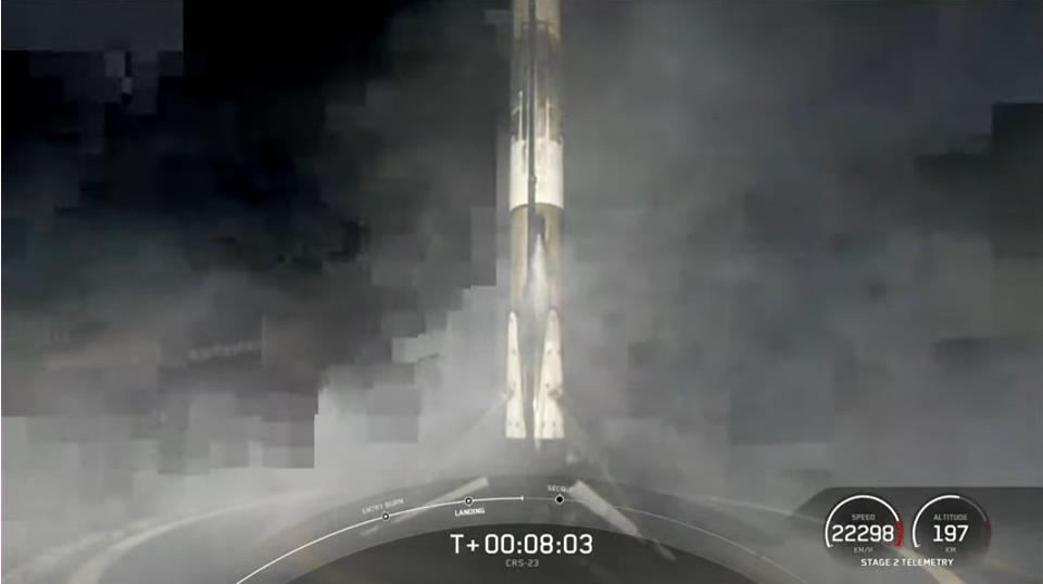 Falcon 9 (Dragon CRS-23) - KSC - 29.8.2021 - Page 2 Scre2046
