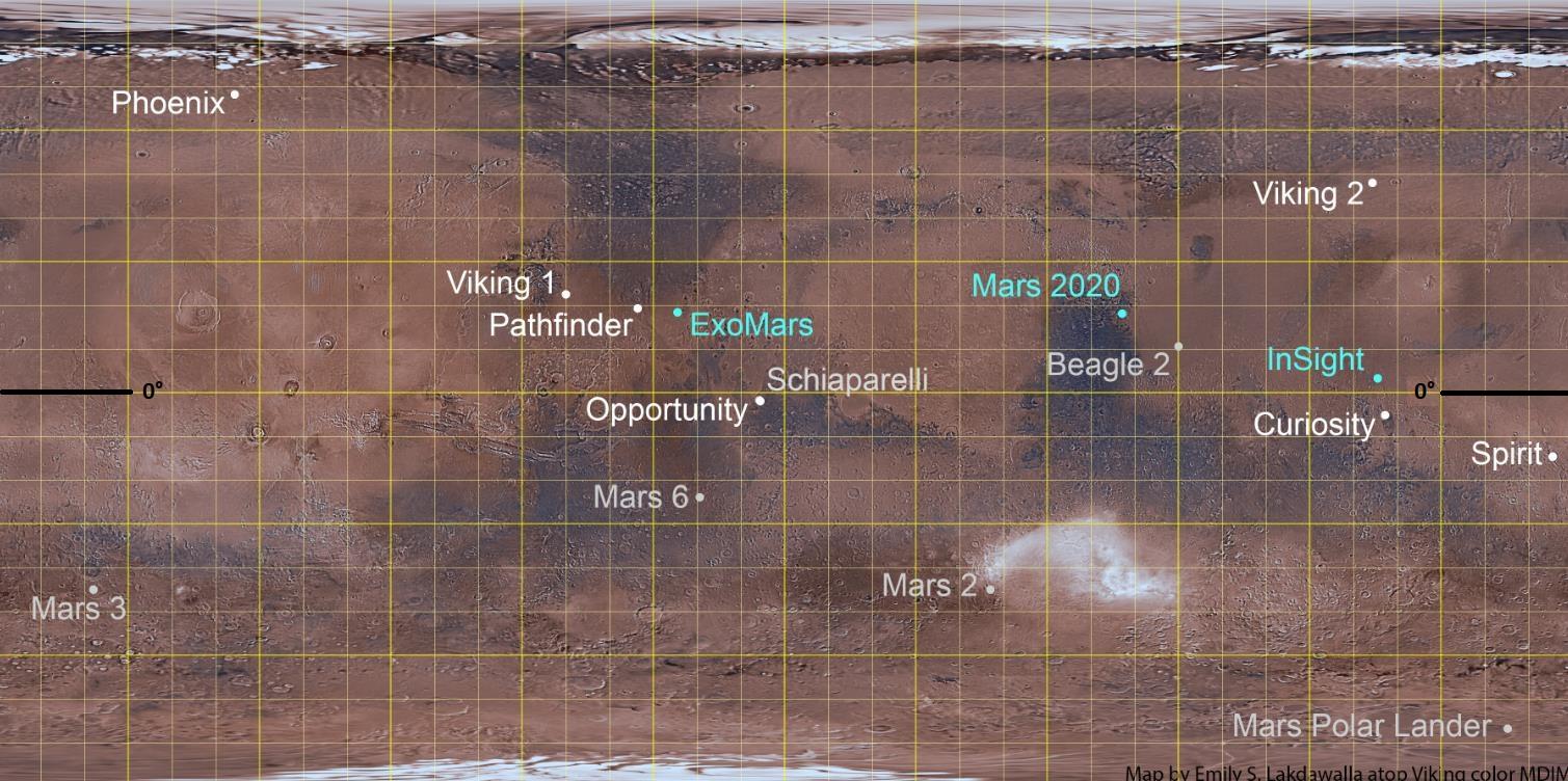 [Mars ] Les sites d'atterrissage de toutes les missions Scree192