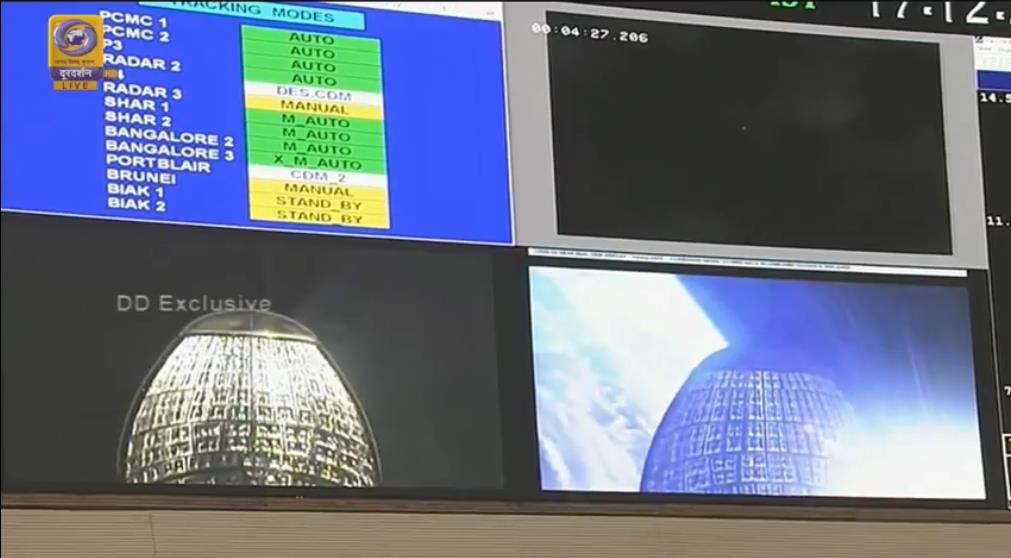 GSLV MkIII D2 (GSAT-29) - 14.11.2018 Scree213