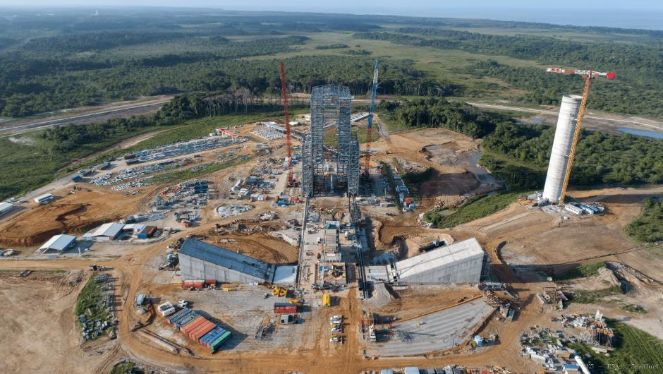 ELA-4 d'Ariane 6 - Suivi de la construction - Page 4 Scree341
