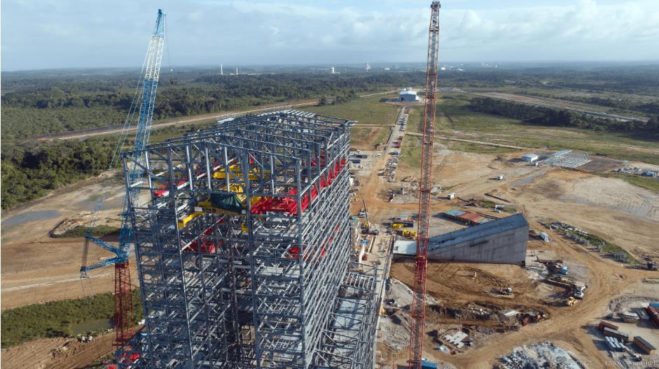ELA-4 d'Ariane 6 - Suivi de la construction - Page 4 Scree343