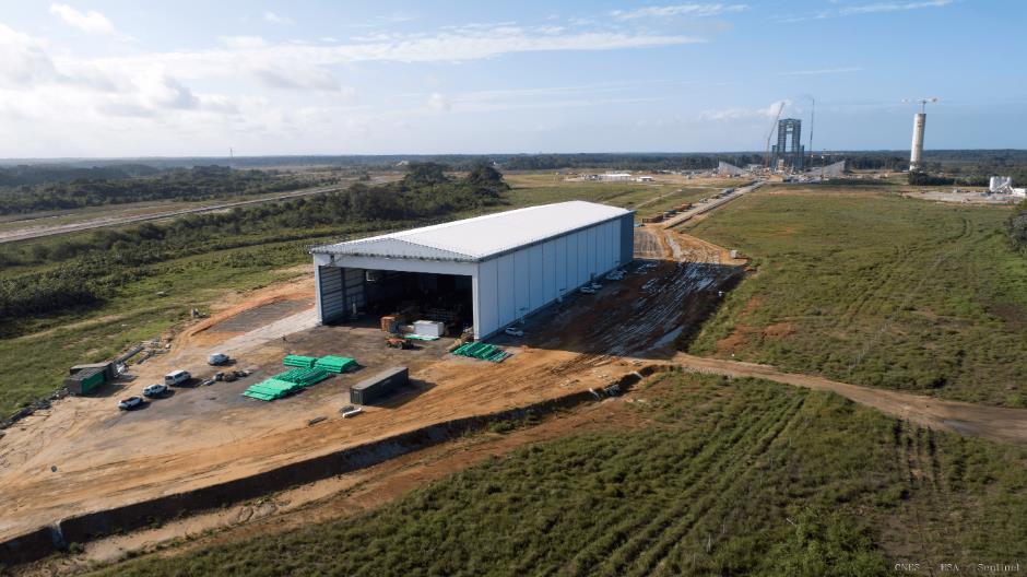 ELA-4 d'Ariane 6 - Suivi de la construction - Page 4 Scree344