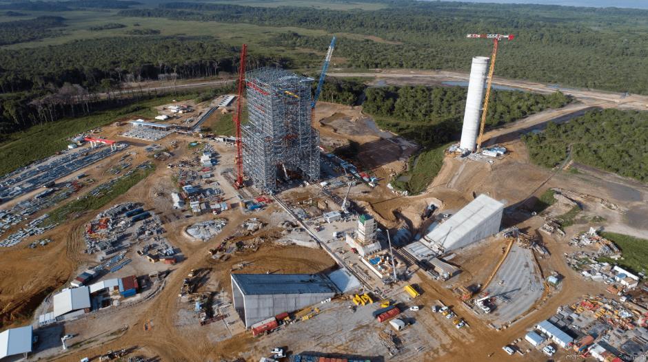ELA-4 d'Ariane 6 - Suivi de la construction - Page 4 Scree345