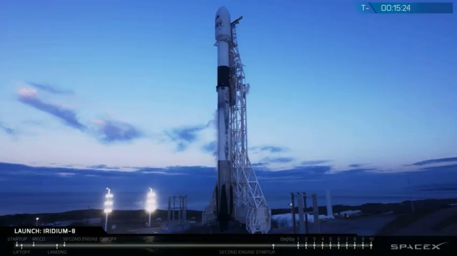 Falcon 9 (Iridium Next 8) - VAFB - 11.1.2019 - Page 2 Scree347