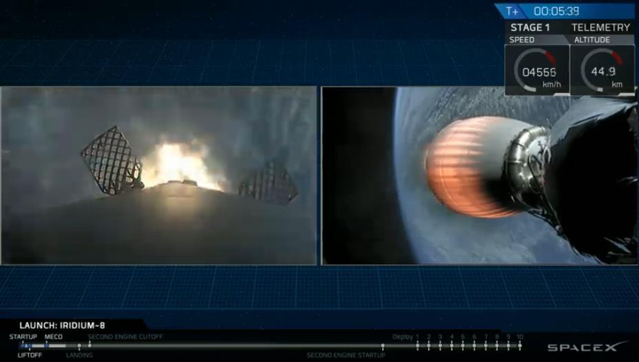 Falcon 9 (Iridium Next 8) - VAFB - 11.1.2019 - Page 2 Scree355