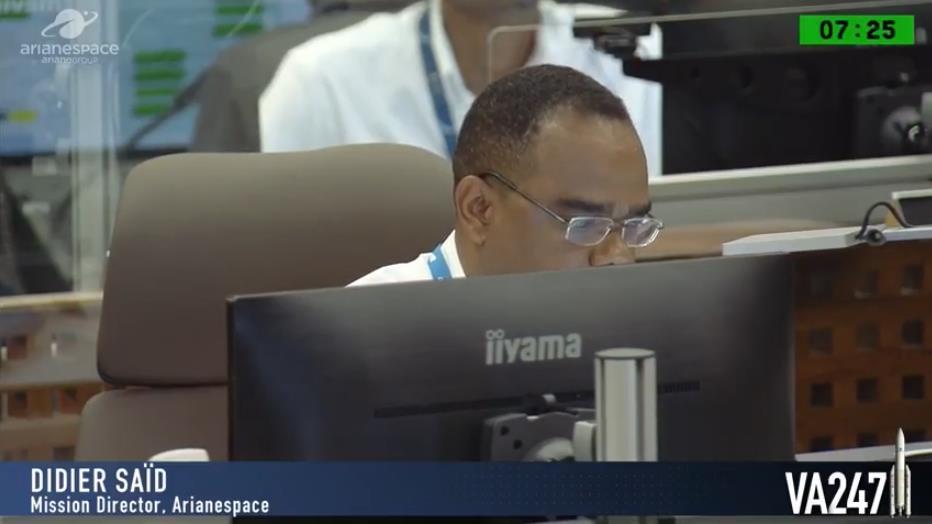 Ariane 5 VA247 (HS-4/SGS-1 + GSAT-31) - 5.2.2019 Scree398