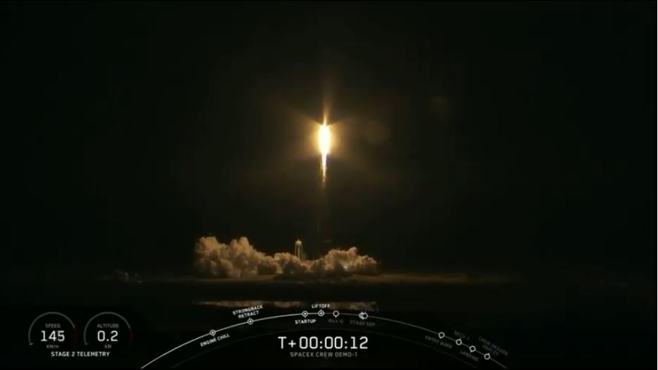 Falcon 9 (Dragon 2 Demo-1) - KSC - 02.03.2019 - Page 13 Scree426