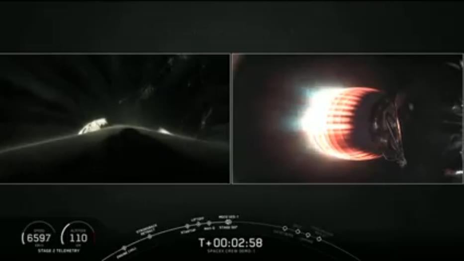 Falcon 9 (Dragon 2 Demo-1) - KSC - 02.03.2019 - Page 13 Scree427
