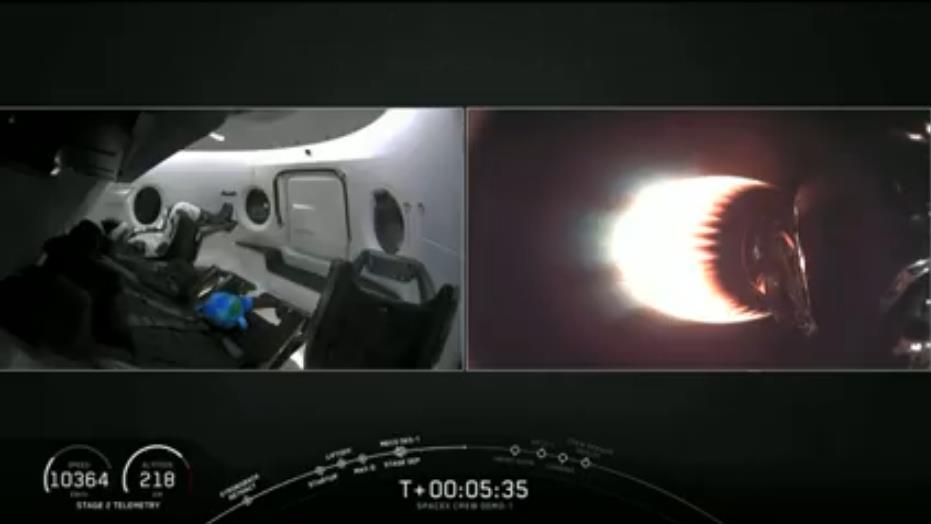 Falcon 9 (Dragon 2 Demo-1) - KSC - 02.03.2019 - Page 13 Scree428