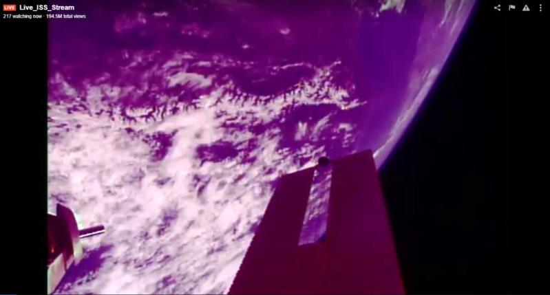 ISS - Caméras HD extérieures Scree583