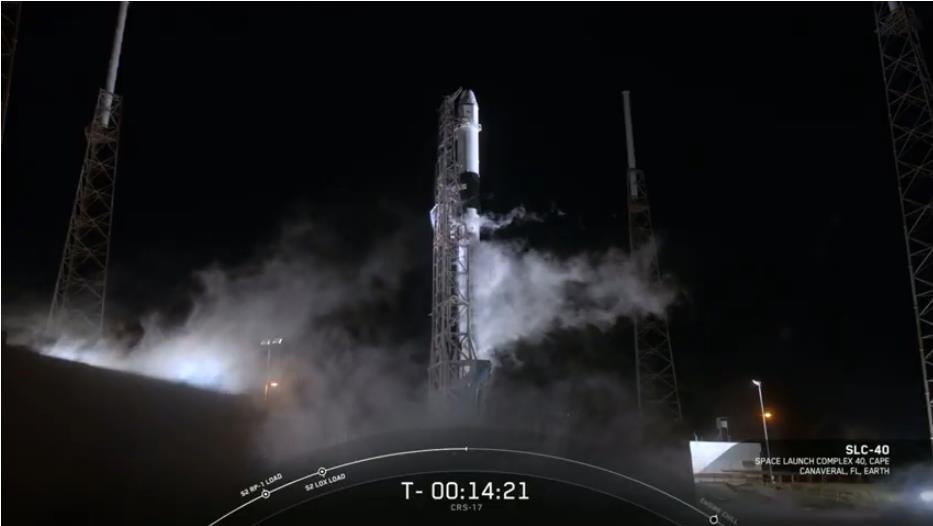 Falcon 9 (CRS-17) - CCAFS - 04.05.2019 - Page 2 Scree590