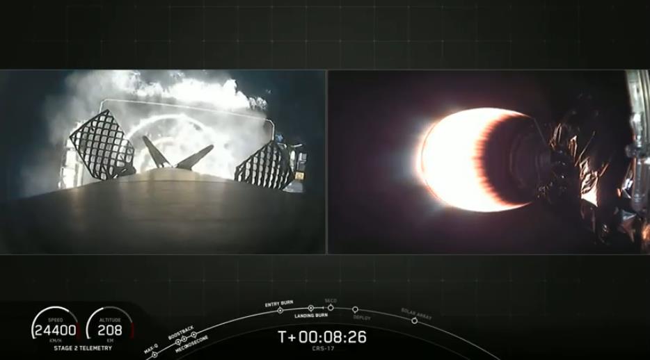 Falcon 9 (CRS-17) - CCAFS - 04.05.2019 - Page 3 Scree595