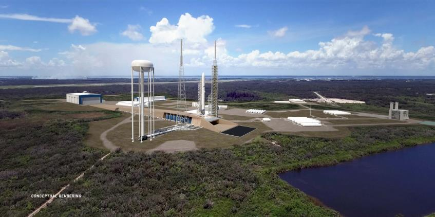[Blue Origin] LC-36, le complexe de lancement New Glenn Scree768