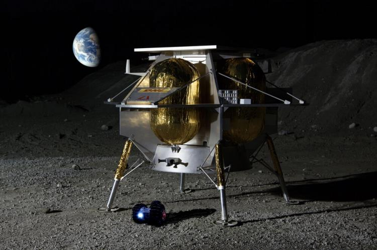 Astrobotic Inc - Peregrine lander Scree837
