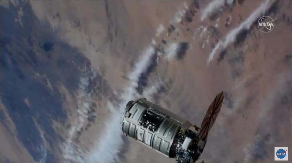 Antares 230 (Cygnus NG-12) - WFF - 2.11.2019 Scree908