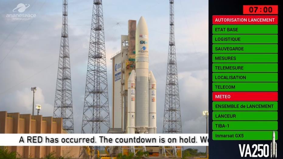 Ariane 5 VA250 (Inmarsat GX5 + TIBA 1) - 26.11.2019   - Page 2 Scree954