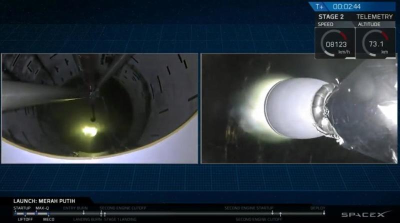 """Falcon 9 block 5 (Telkom-4 """"Merah Putih"""") - 7.8.2018  - Page 2 Screen72"""
