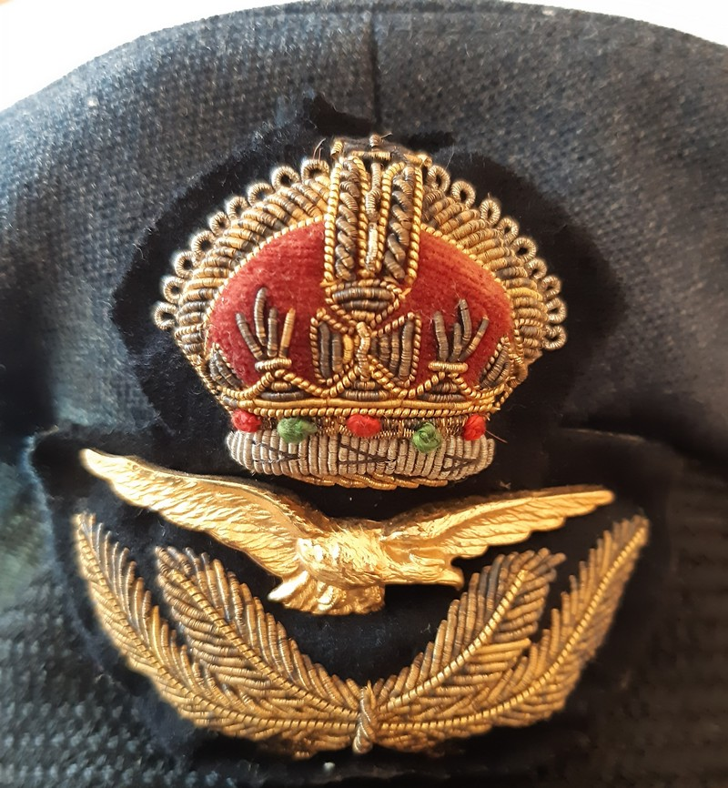 Casquette officier anglais ww2 R.A.F 20190919