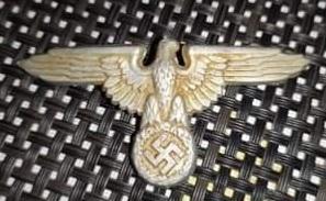 Aigle casquette officier SS 20210118