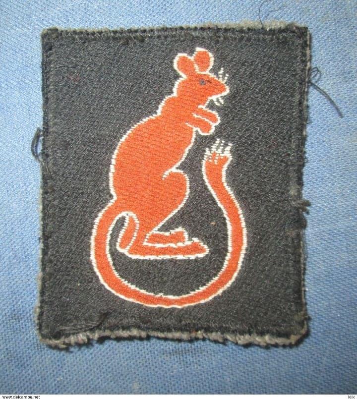 insigne tissus 7e division blindée Britannique  43412210