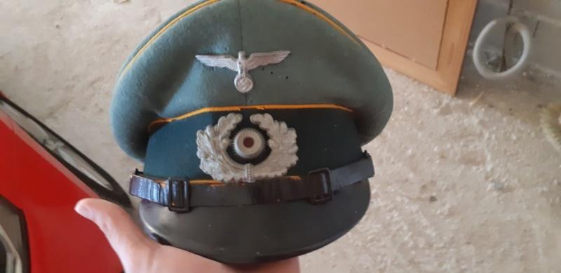 Casquette sous officier WH cavalerie  Img_3810