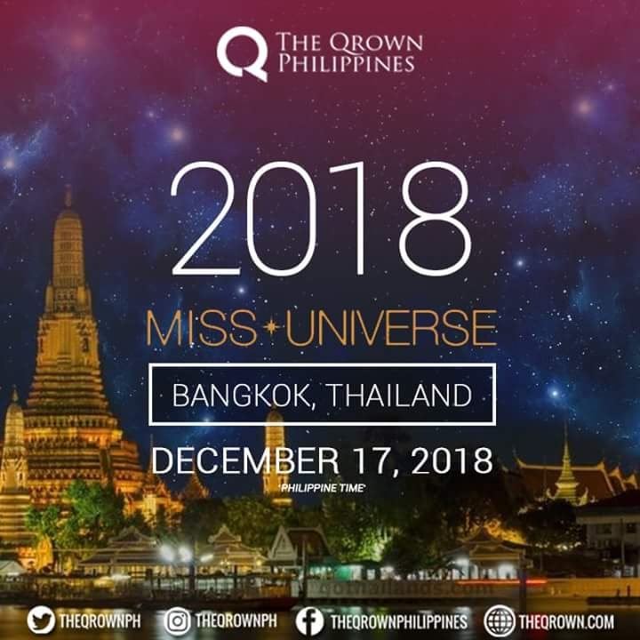 Miss Universe 2018 will be held in Bangkok, Thailand on December 16 - Page 3 Fb_i1135