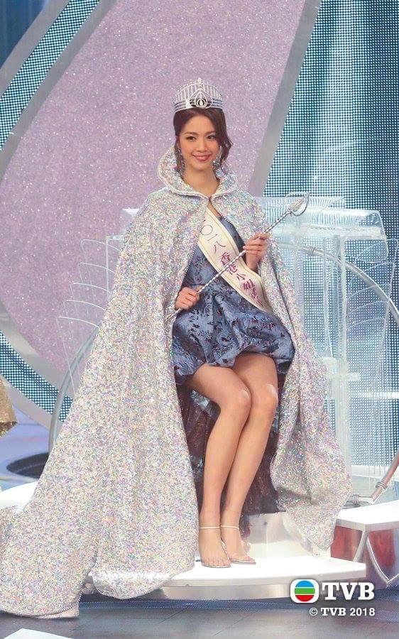 Hera Chan is MISS HONG KONG 2018   Fb_i1656