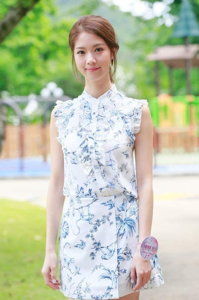 Hera Chan is MISS HONG KONG 2018   Fb_i1658