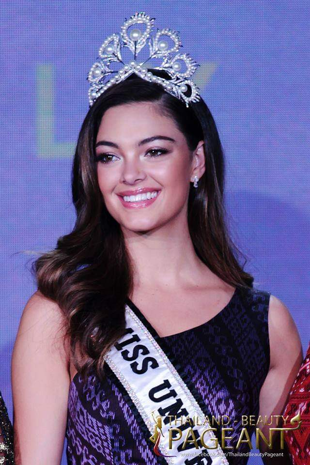 ♔ The Official Thread of MISS UNIVERSE® 2017 Demi-Leigh Nel-Peters of South Africa ♔ - Page 15 Fb_i3992