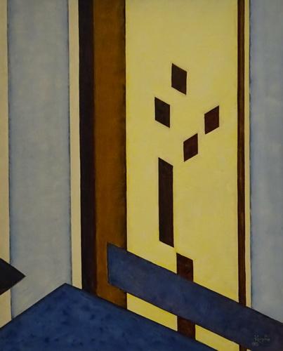aquarelle  monogrammée   suprématisme,constructivisme  début xx Kupka_10