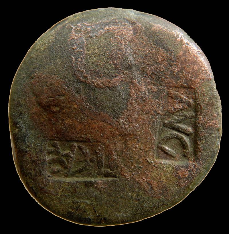 Romaine à Id s.v.p., 2 marques de contrôle. 0004-210