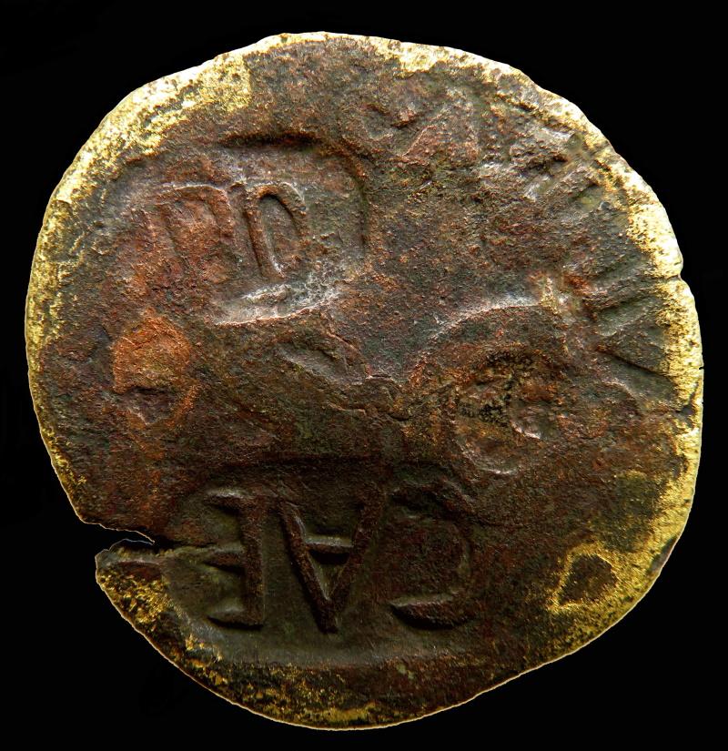 Monnaie à ID s.v.p. 4 marques de contrôle. 000510
