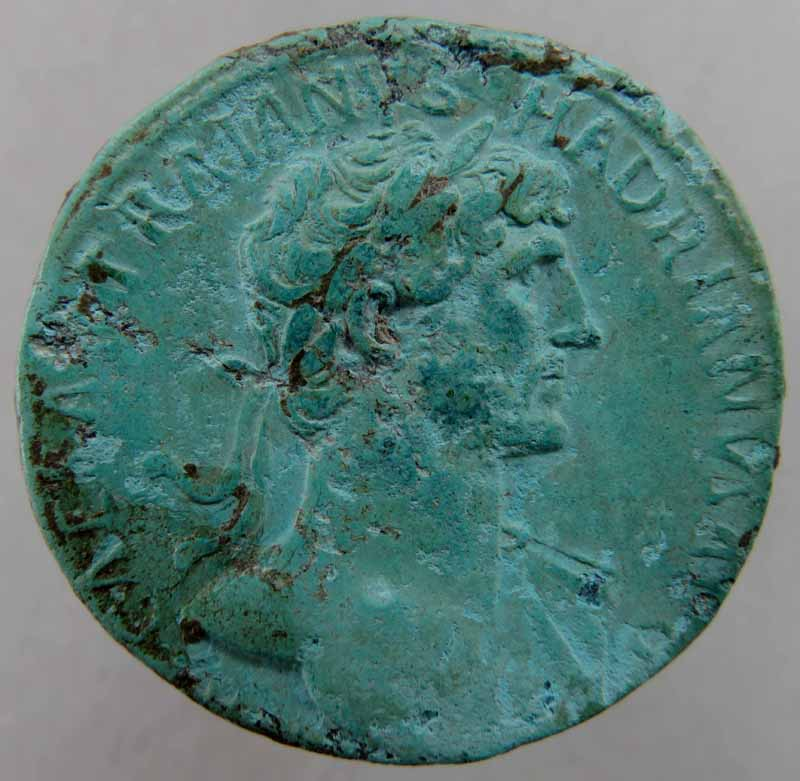 Traianus Hadrianus - Sesterce - RIC 550. Img_9115