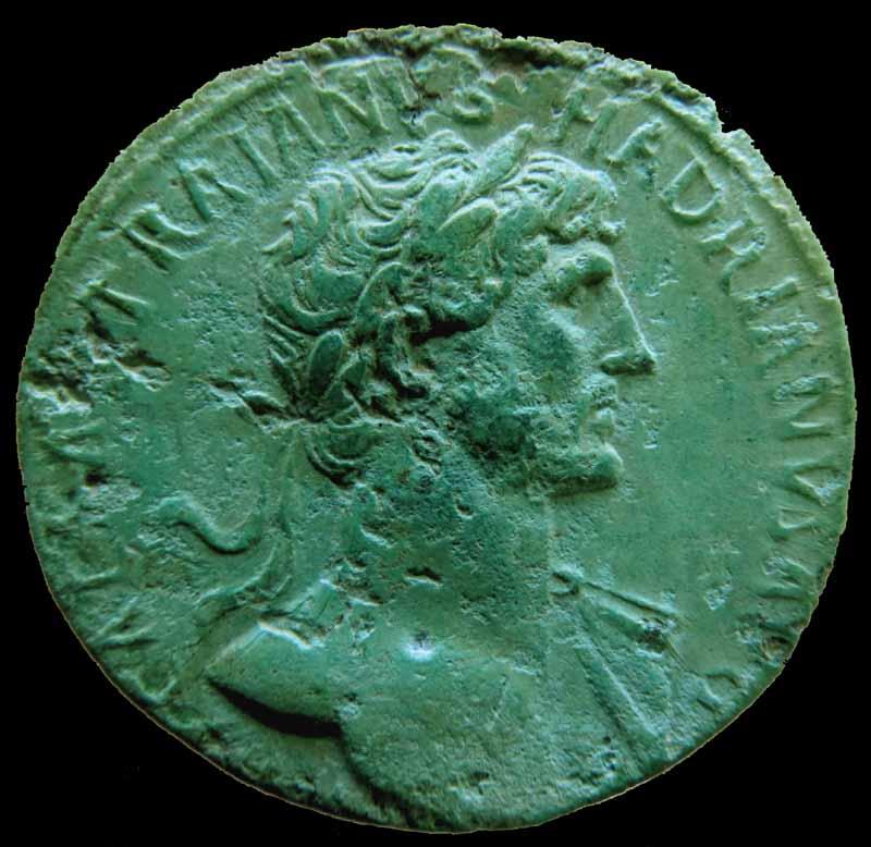 Traianus Hadrianus - Sesterce - RIC 550. Img_9117