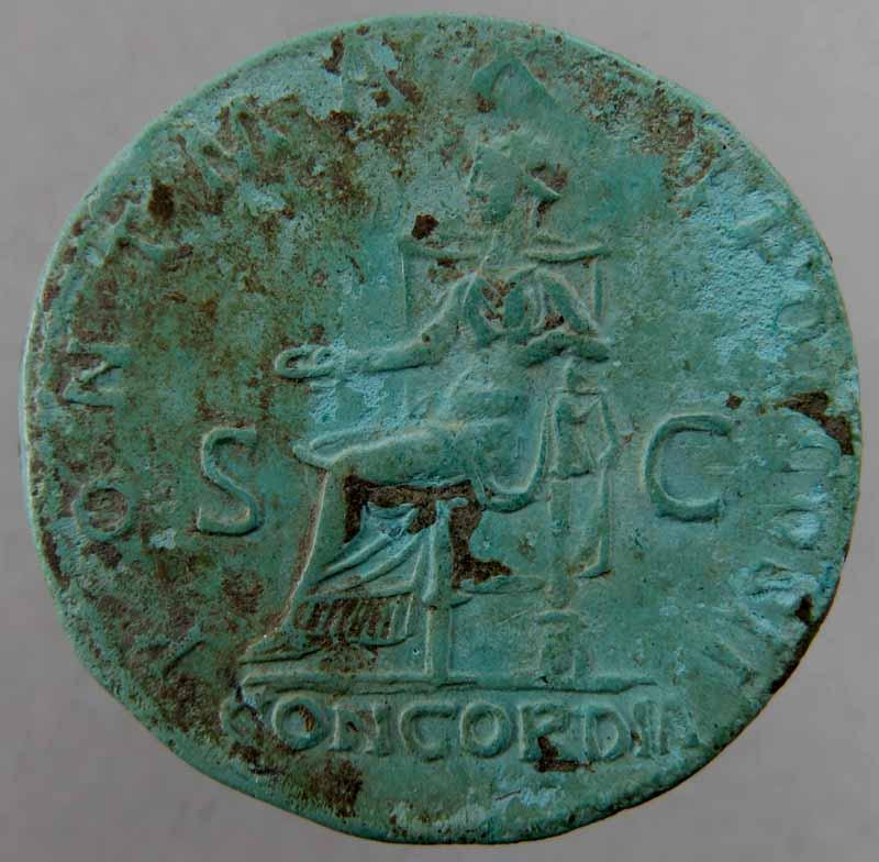 Hadrien - sesterce - RIC 550, CONCORDIA. Img_9134