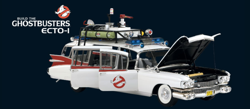 Eaglemoss Ecto-1 Build Ghostb10