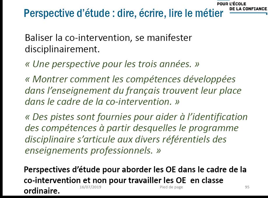[réforme] nouveau programme CAP français : idées, progressions, oeuvres...  Screen10