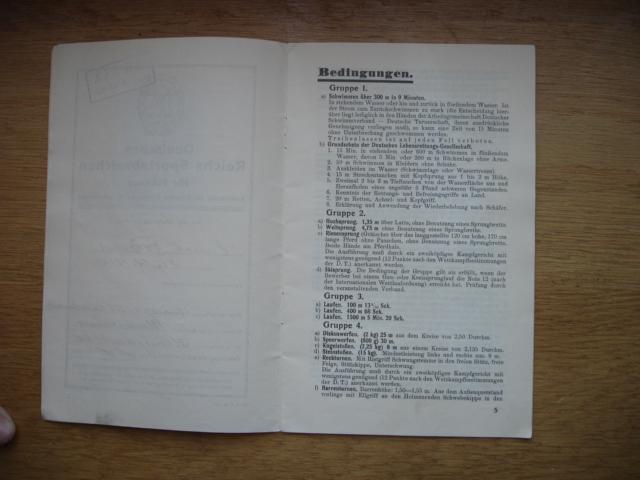 livret deutsches reichs sportabzeichen Dsc09101