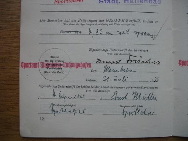 livret deutsches reichs sportabzeichen Dsc09108