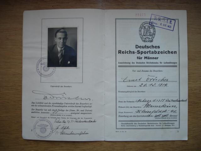 livret deutsches reichs sportabzeichen Dsc09597