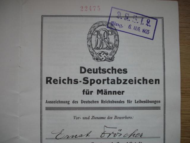 livret deutsches reichs sportabzeichen Dsc09598