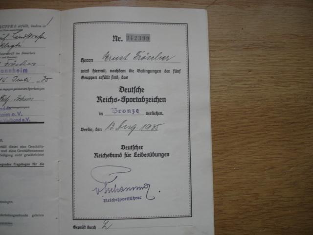 livret deutsches reichs sportabzeichen Dsc09612