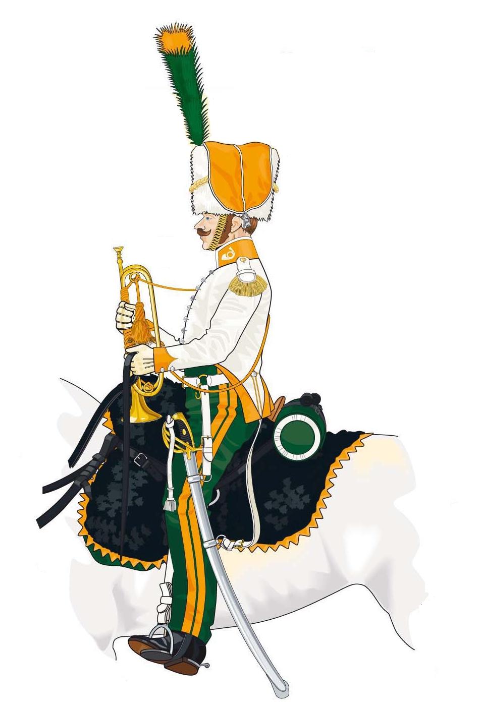 Trompette de Chasseurs à cheval Chasse11