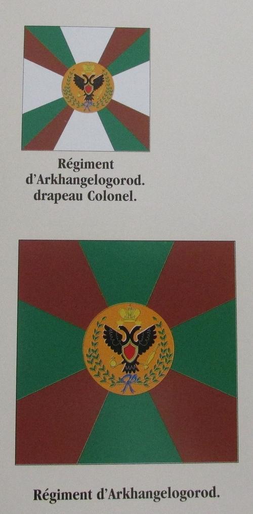 Jacquemin et le drapeau de Arkhangelogorod - Austerlitz 1805 - Page 2 Drapea10